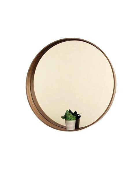 spiegel rund 50 cm spiegel rund holz mit holzrahmen badezimmerspiegel 50 cm