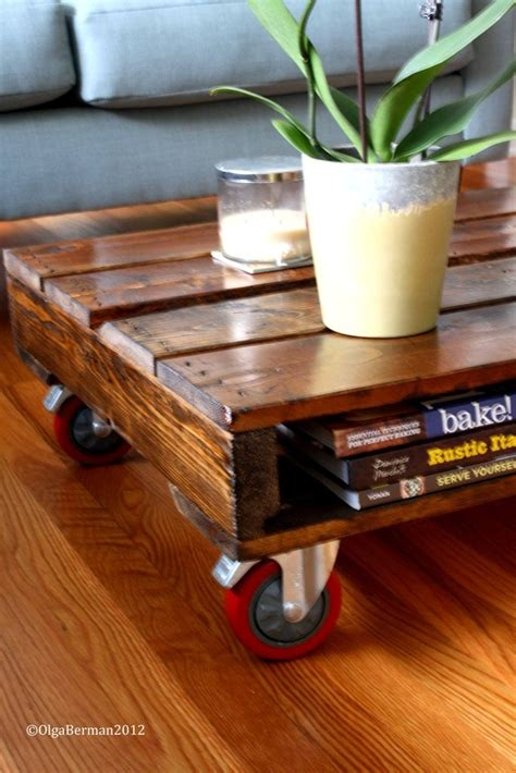 make a coffee table book of your own photos diy make your own pallet coffee table great for outdoor