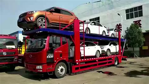 car carriers small 5 car transport truck trailer for sale