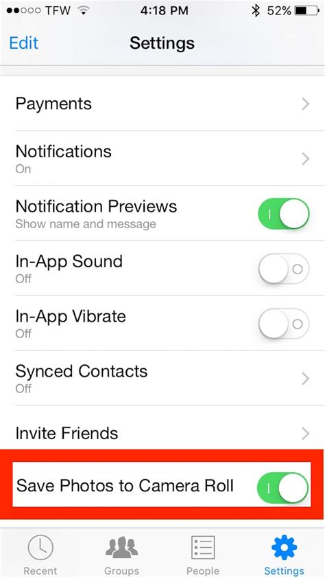 how to save a from to iphone save pictures automatically from messenger