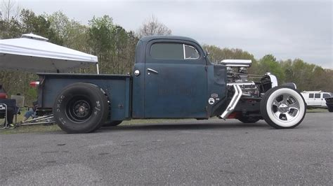Ford Hot Rod Rat Pickup Truck Paradise Dragstrip