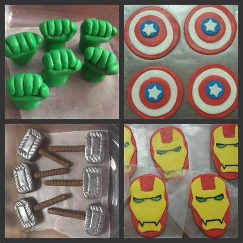 superhero cupcake toppers ideas  pinterest