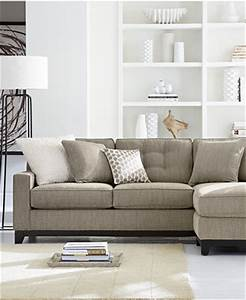 Clarke fabric sectional sofa living room furniture sets for Clarke fabric sectional sofa 2 piece