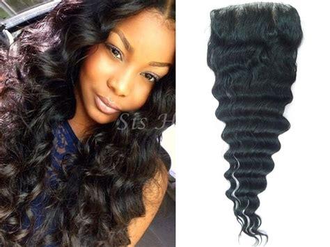 10a Lace Closure Virgin Hair Deep Wave 4*4