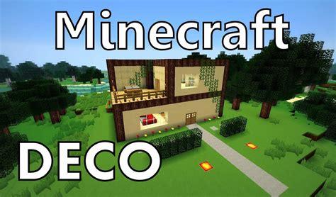 minecraft comment cr 233 er une maison moderne