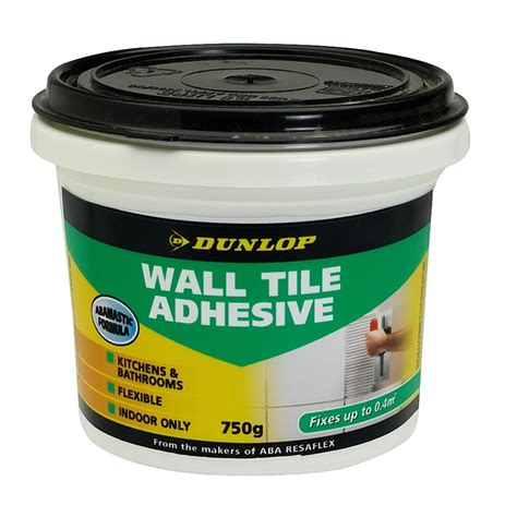 Tile Adhesive Remover Products by Dunlop 750g Wall Tile Adhesive Bunnings Warehouse