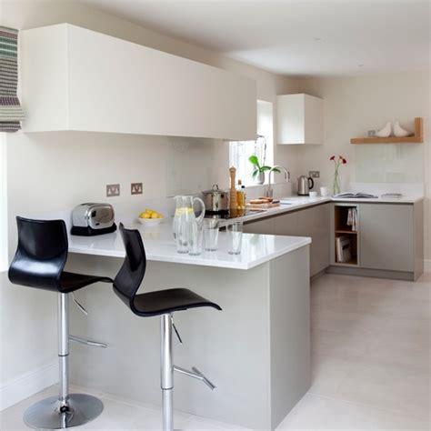 Breakfast Bar Ideas For Kitchen White Modern Breakfast Bar Housetohome Co Uk