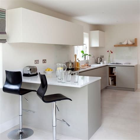 breakfast bar ideas for small kitchens white modern breakfast bar kitchen beautiful kitchens