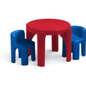 tikes table and chair set primary walmart
