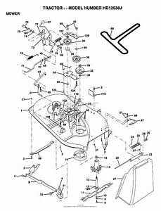 Ayp  Electrolux Hd12538j  1999  Parts Diagram For Mower