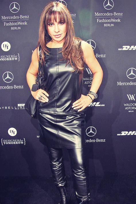 Simone Thomalla attends Mercedes-Benz Fashion Week ...