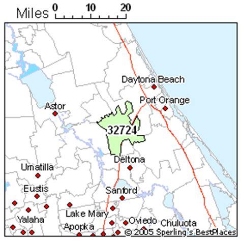 Deland (zip 32724), Florida Rankings