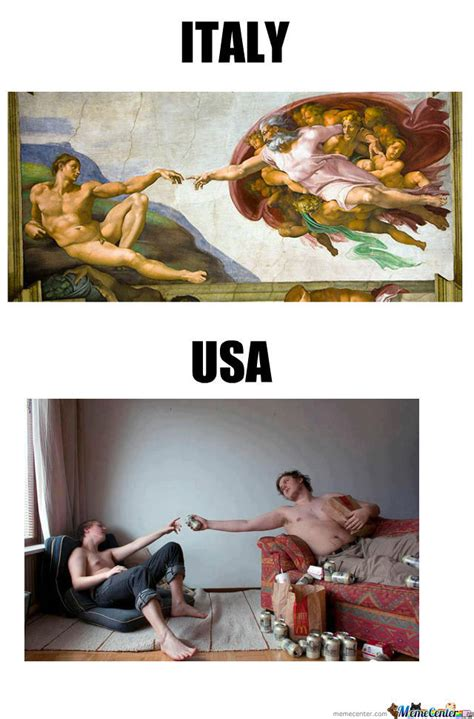 Funny Italian Memes - italy vs usa by dondono meme center