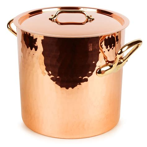 mauviel mheritage  tin lined hammered copper stock