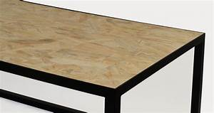 Table Basse Osb Triply M 39 Trend Luminaire Mobilier Mobilier