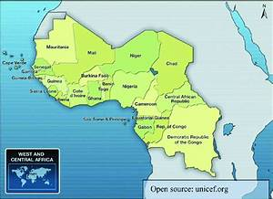 Map Of West And Central Africa