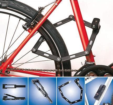 bordo folding bike lock  awesomer