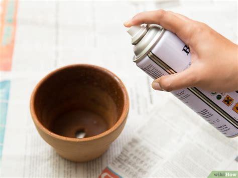 Terracotta Töpfe Streichen by Comment Peindre Des Pots En Terre Cuite 31 233
