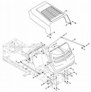 Troy-bilt 13wn77ks011 Parts List And Diagram
