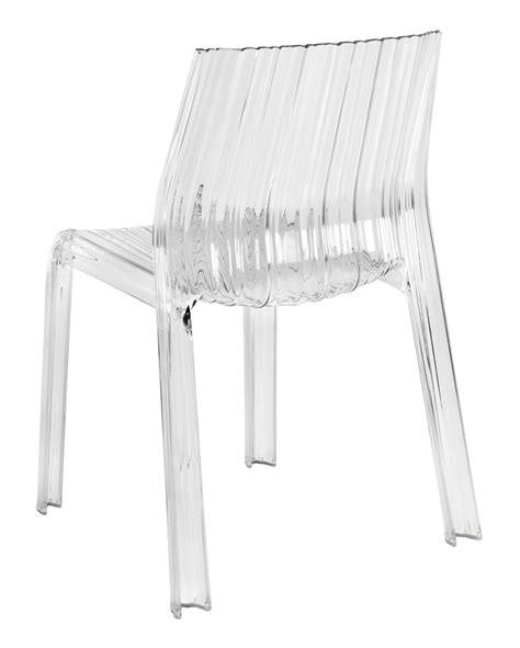 chaise polycarbonate transparente chaise empilable frilly transparente polycarbonate