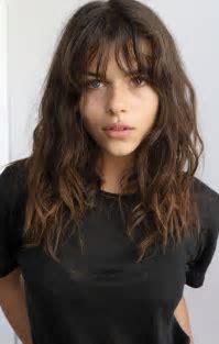 Best 25  Bangs curly hair ideas on Pinterest   Curly hair