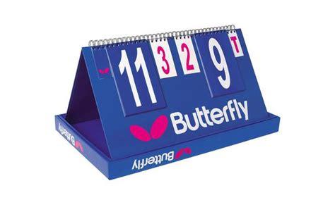 butterfly table tennis scorer