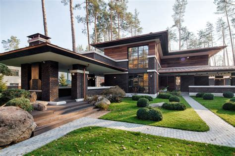 stunning images prairie style of architecture a contemporary prairie house by yunakov architecture in