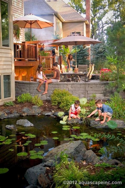 Pond Aquascape by Aquascape Board Member Ed Beaulieu Water Can Keep