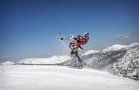 motocross snow bike dirt bike snow kit jebiga design lifestyle