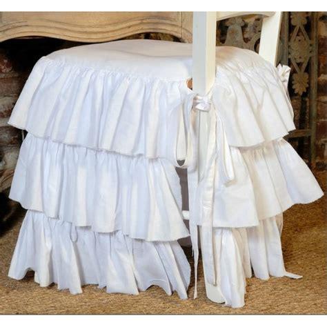 galette de chaise avec volant galette de chaise volantee conceptions de maison