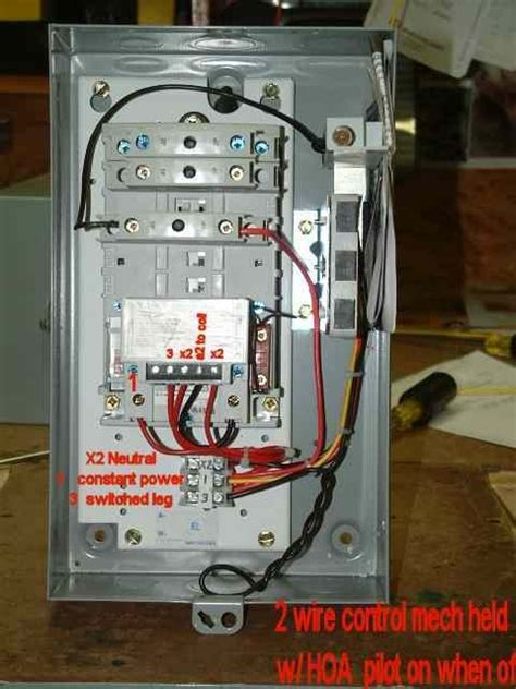 eaton 2 pole contactor wiring diagram wiring diagram and