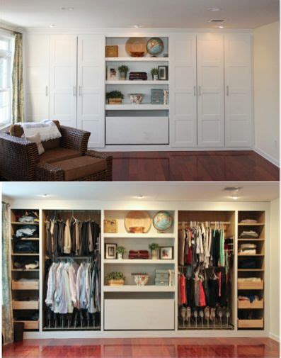 Bedroom Wall Closet by Best 20 Closet Wall Ideas On Built In