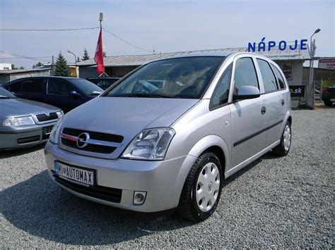 2003 Opel Meriva 17 Dti Related Infomationspecifications