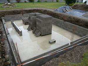 construire une piscine la methode traditionnelle With construire une piscine en beton soi meme