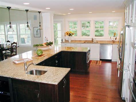 u kitchen with island 50 gorgeous kitchen island design ideas homeluf 6467