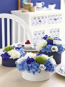 Blaue Quadrate Mit Tisch : tischdeko blaue und wei e hortensien hnliche tolle ~ A.2002-acura-tl-radio.info Haus und Dekorationen