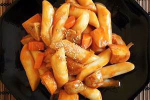 Plat A Gateau : plat cor en g teau de riz saut aux l gumes kimshii ~ Teatrodelosmanantiales.com Idées de Décoration