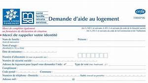 Pret Caf Pour Voiture : formulaire attestation de loyer demande de versement direct caf ~ Gottalentnigeria.com Avis de Voitures