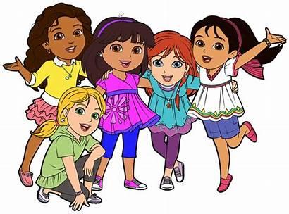 Friends Clipart Clip Cartoon Friend Dora Friendship