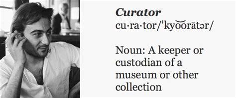 history   word curator art agenda phaidon