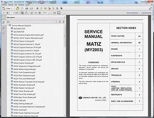 Daewoo Matiz - Service Manual