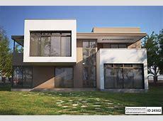 Four Bedroom Modern House Design ID 24502 House Plans