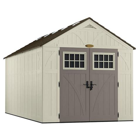 Suncast Alpine Shed Canada by Suncast 8 X 16 Tremont Storage Shed The Home