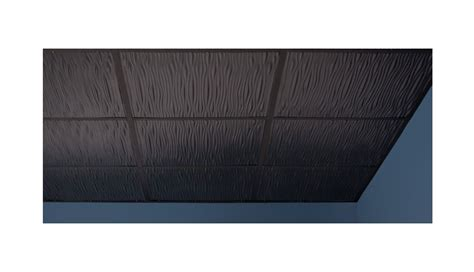 Genesis Drifts Ceiling Tile by Drifts 2 X 2 Black Box Of 12