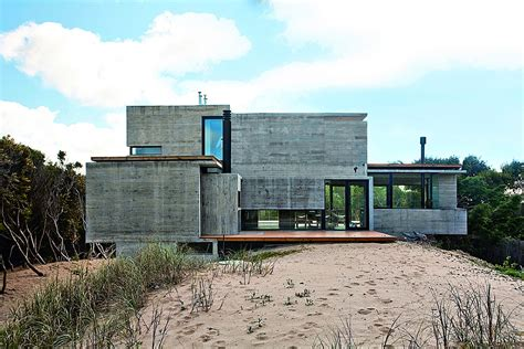 Modern House Ushers In Industrial Style With Raw Concrete