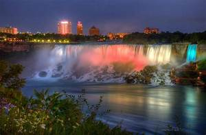 Niagara Falls Canada Sunset Photograph by Wayne Moran