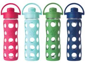 baby shower registries reusable wide glass bottle with silicone cover