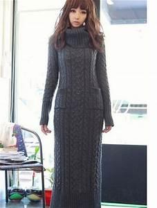 robe longue laine grise boho boheme chic With robe longue en laine