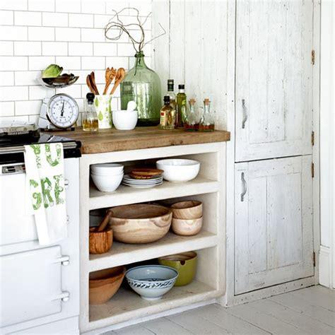 Remove A Door  Country Kitchen Storage Ideas