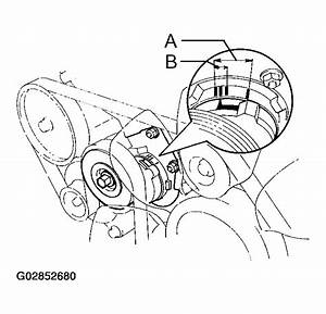 2003 Toyota Sequoia Serpentine Belt Routing And Timing